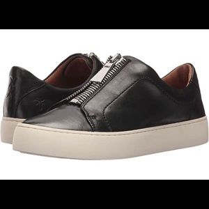Frye Lena Zip Low Sneaker